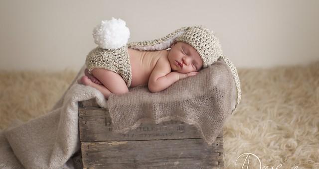 Mason, 9 days old