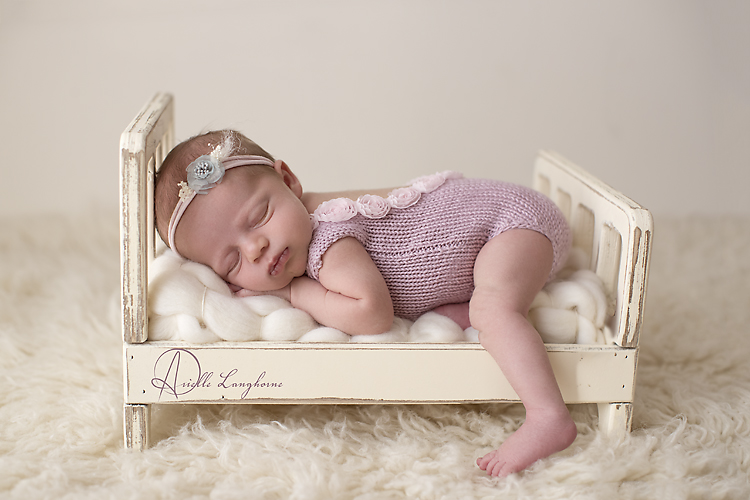 baby on tiny bed