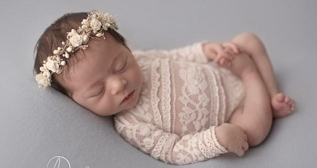 Mia, little ballerina, Pensacola Newborn Photographer