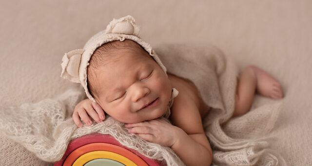 AJ, Pensacola Rainbow baby