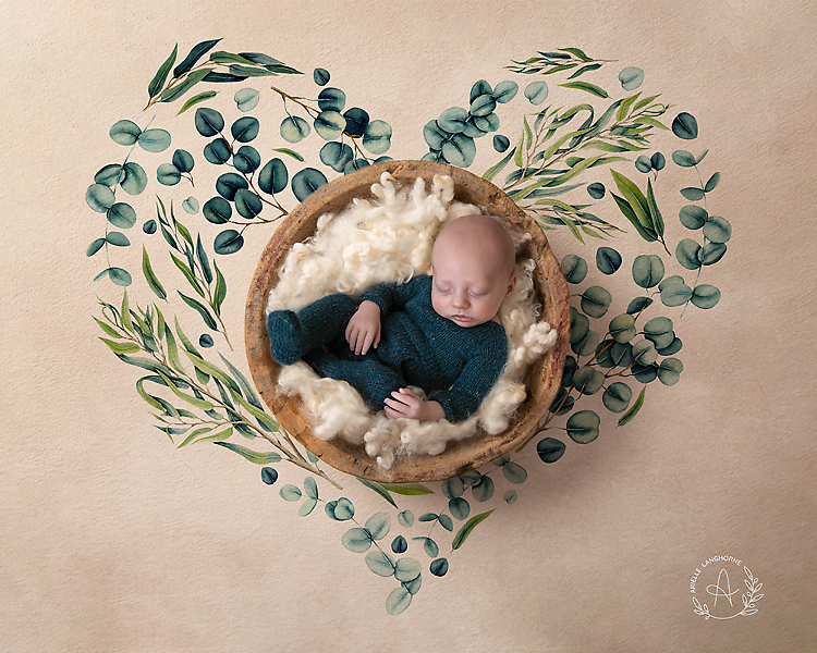 heart of leaves