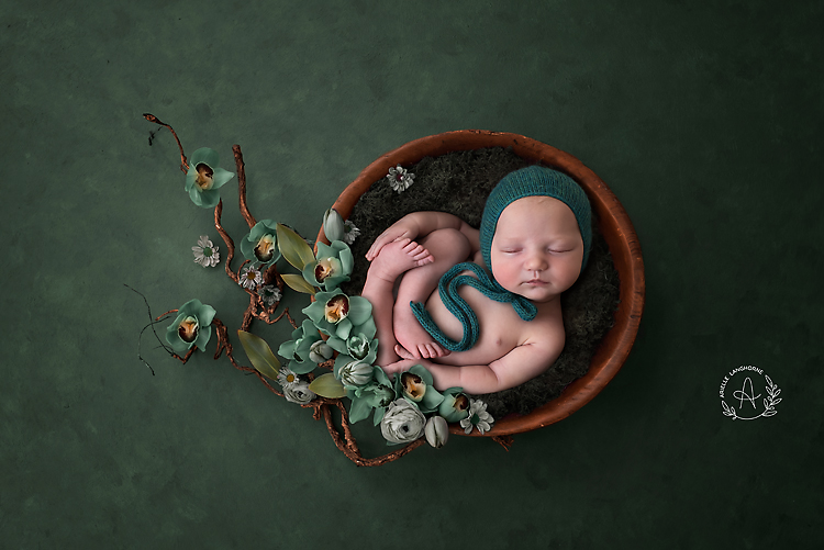 orchids and baby